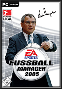 Fußball Manager 2005 GameBox
