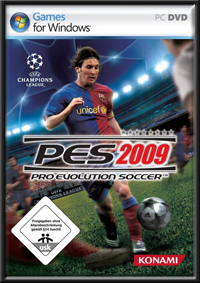 Pro Evolution Soccer 2009 GameBox
