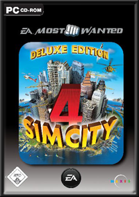 Sim City 4 Deluxe Edition GameBox