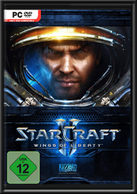 Starcraft 2: Wings of Liberty GameBox