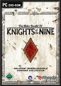 The Elder Scrolls 4: Knights of the Nine GameBox