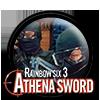 Tom Clancy's Rainbow Six: Raven Shield - Athena Sword Icon