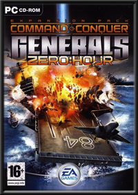 Command & Conquer Generals - Zero Hour GameBox