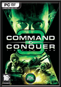 Command & Conquer 3 Tiberium Wars GameBox