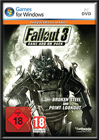 Fallout 3 - Game Add-on Pack: Broken Steel + Point Lookout GameBox